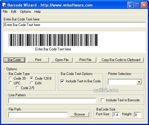 Barcode Wizard Screenshot 2