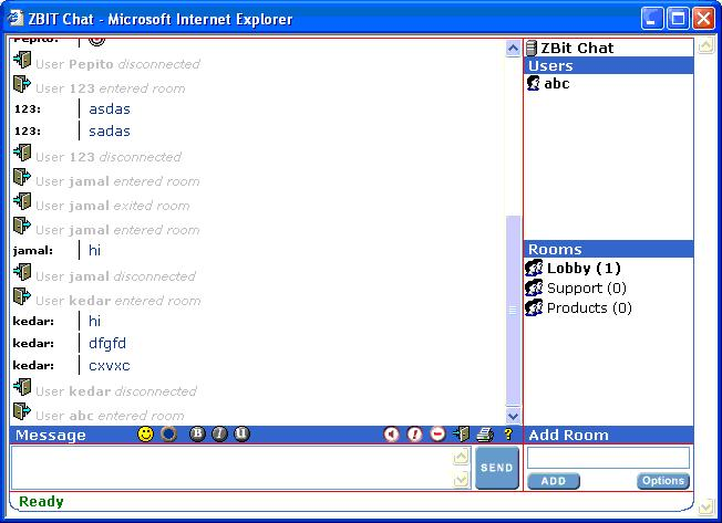 Zbit J-Chat Pro Screenshot 1