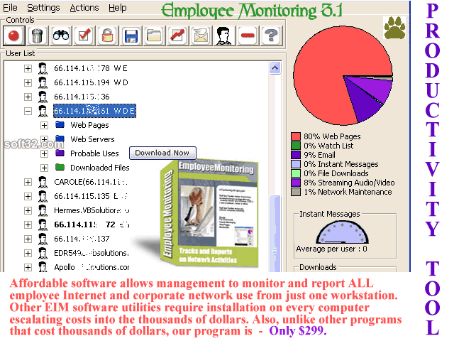 Employee Monitoring Screenshot 2