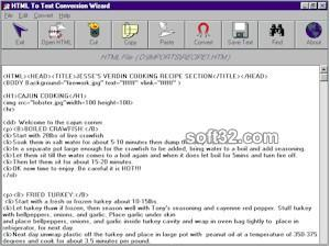 HTML To Text Screenshot 2