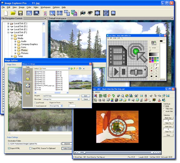 CDH Image Explorer Pro Screenshot 1