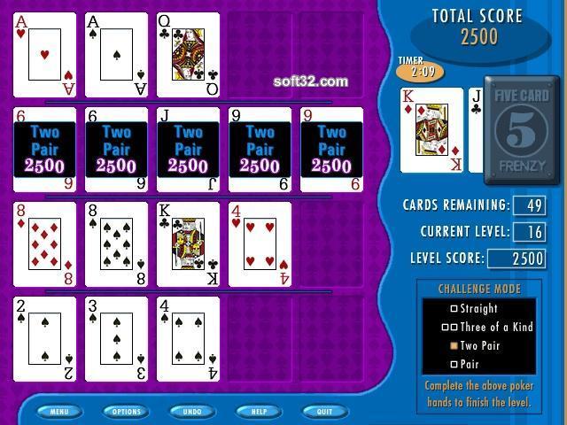 Five Card Frenzy Screenshot 3