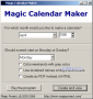 Magic Calendar Maker 3