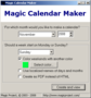 Magic Calendar Maker 2