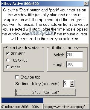 Mihov Active 800x600 Screenshot 3