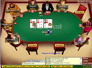 Multiplayer Party Poker Screenshot