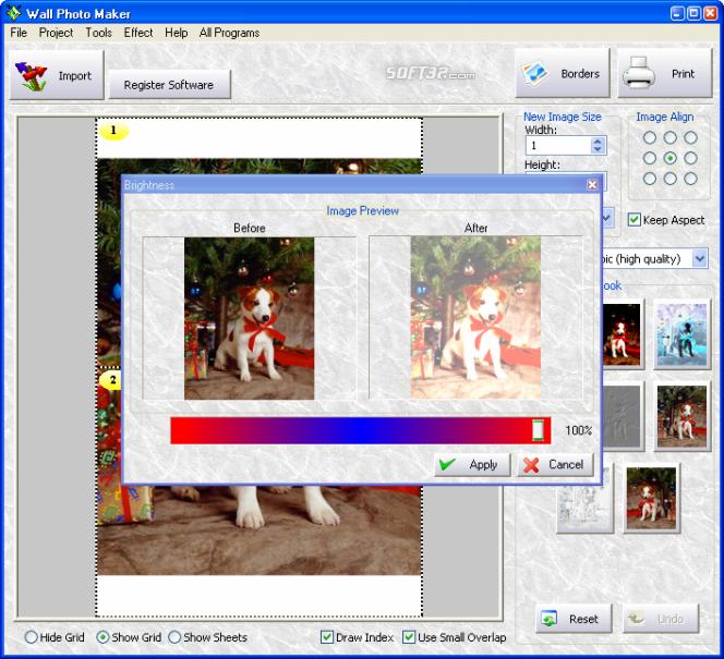 Wall Photo Maker Screenshot 2