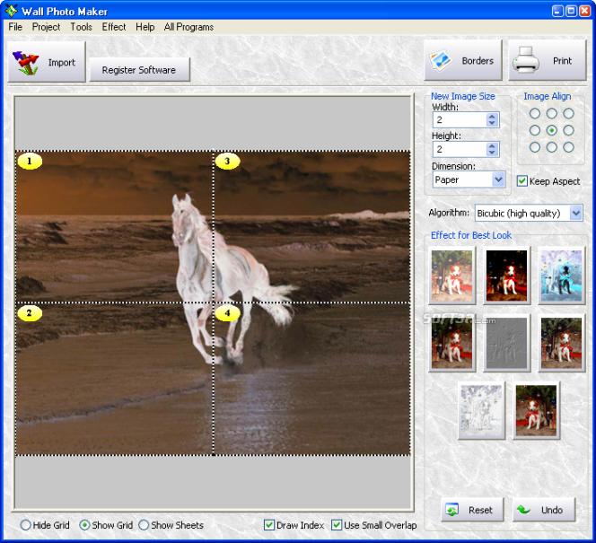 Wall Photo Maker Screenshot 4