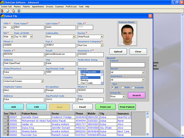 ClinicGate Standard Screenshot 1
