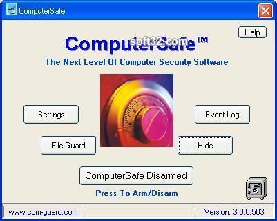 ComputerSafe Screenshot 3
