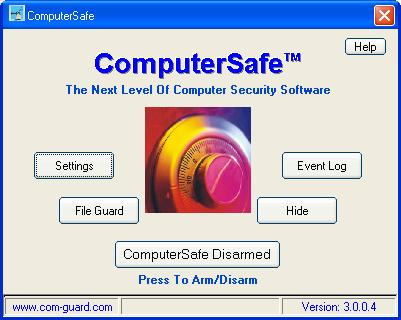 ComputerSafe Screenshot 1