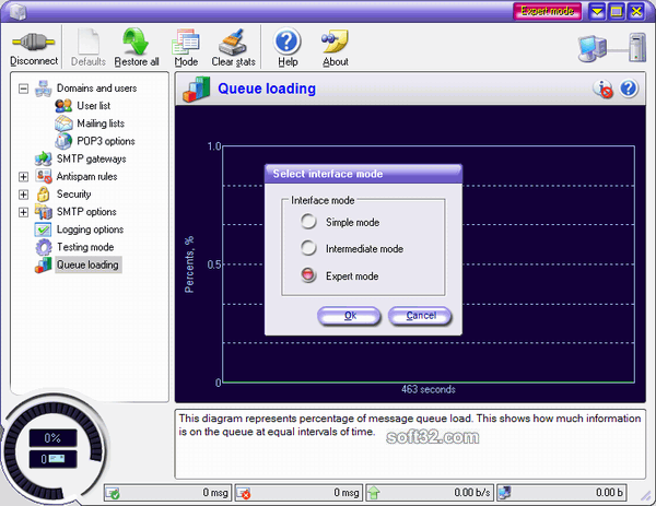Corporate SMTP Server Screenshot 3