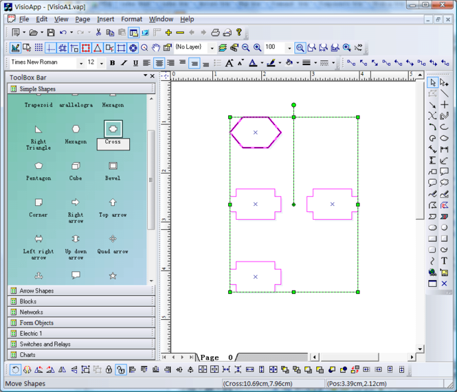 E-XD++ Diagrammer Professional Screenshot