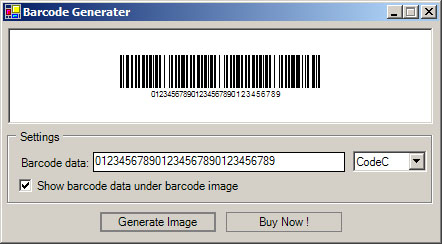 Barcode 128 Module Screenshot 1