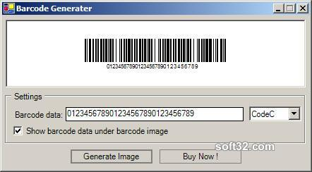 Barcode 128 Module Screenshot 2