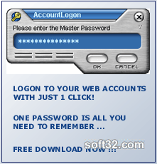 AccountLogon Screenshot