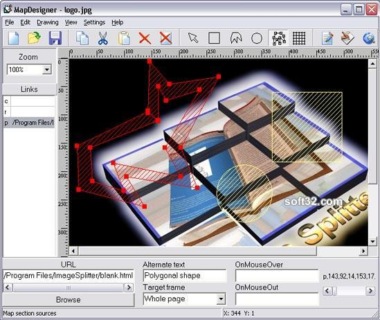 HTML Map Designer Pro Screenshot 3