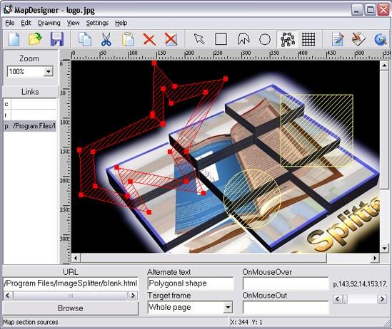 HTML Map Designer Pro Screenshot 1