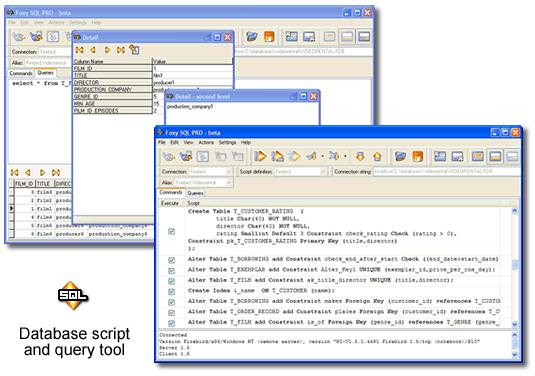 Foxy SQL Pro Screenshot