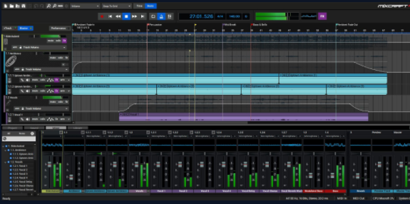 Mixcraft Screenshot