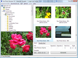 Fast Photo Renamer Screenshot