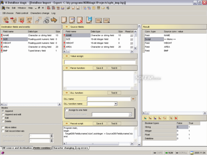 K Database Magic Screenshot 3