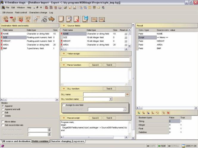 K Database Magic Screenshot 1