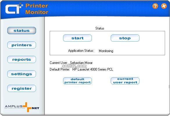 A+ Printer Monitor Screenshot 2