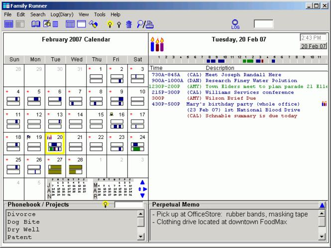 Family Runner Screenshot