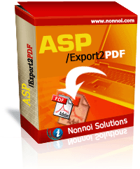 ASP/Export2PDF Screenshot