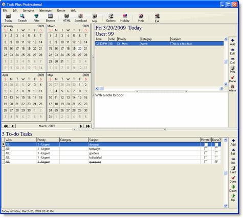 Task Plus Professional Screenshot 1
