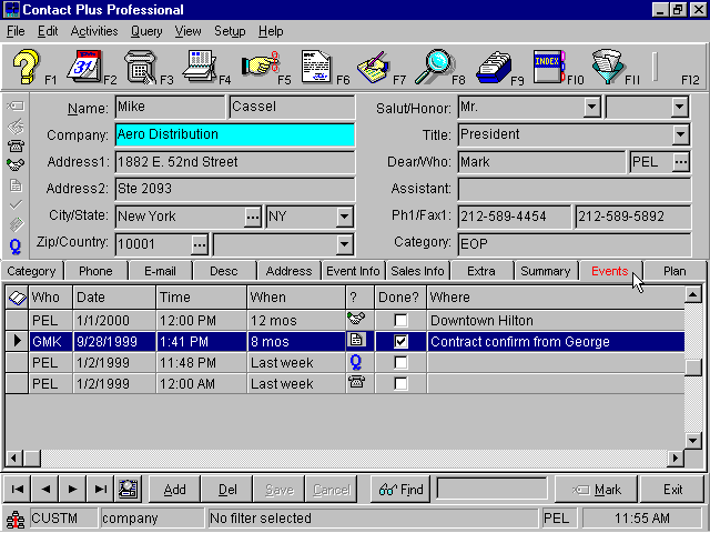 Contact Plus Pro Screenshot