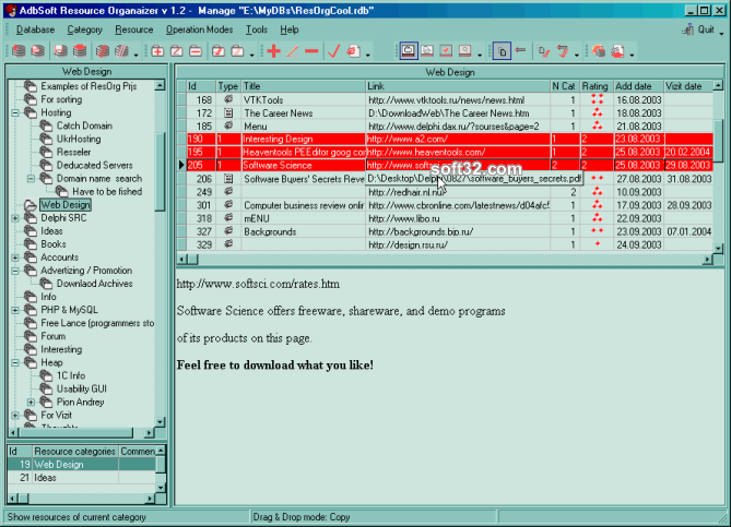 AdbSoft Resource Organizer Screenshot 3