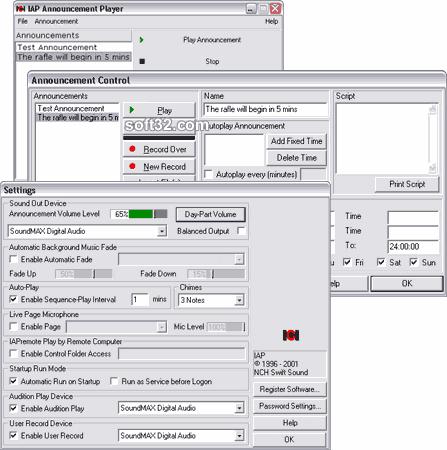 IAP In-Business Announcement Player Screenshot 2