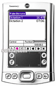 Palm Dictate Dictation Recorder Screenshot 3