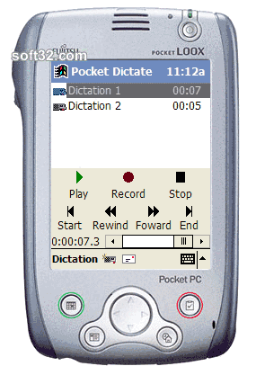 Pocket Dictate Dictation Recorder Screenshot 3