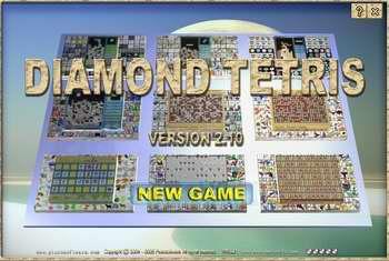 Diamond Tetris Screenshot 1