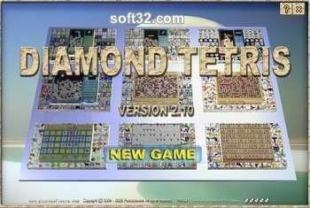 Diamond Tetris Screenshot 2