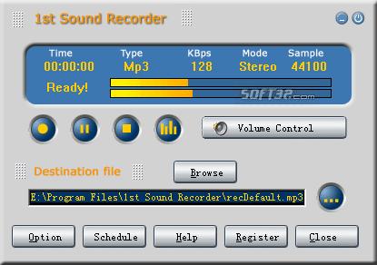 1st Sound Recorder Screenshot