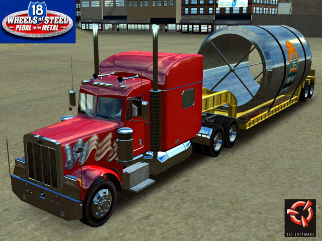 18 Wheels of Steel Pedal to the Metal Screenshot 1