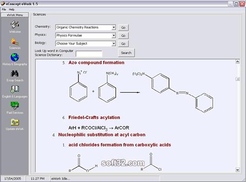 eWork Screenshot