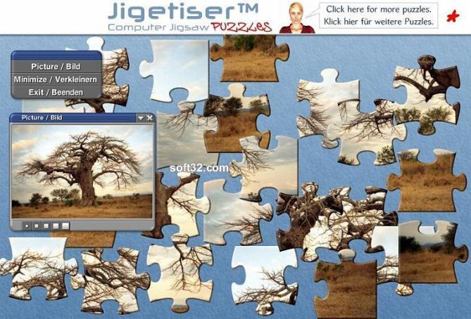Jigetiser(tm) - Africa 1 Package Screenshot