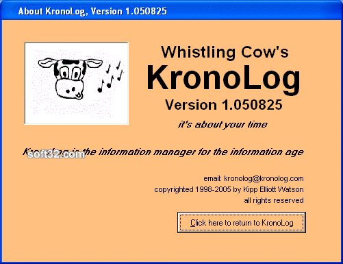 KronoLog Screenshot 2
