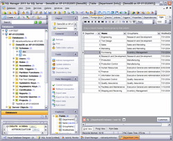 EMS SQL Manager for SQL Server Freeware Screenshot