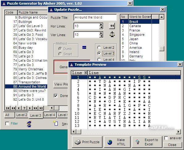 Puzzle generator Screenshot 2