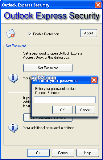 Outlook Express Security Screenshot 2