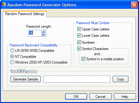 Random Password Generator Screenshot 3