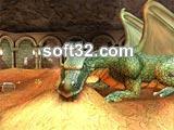 Treasure Chamber 3D Screensaver Screenshot 2