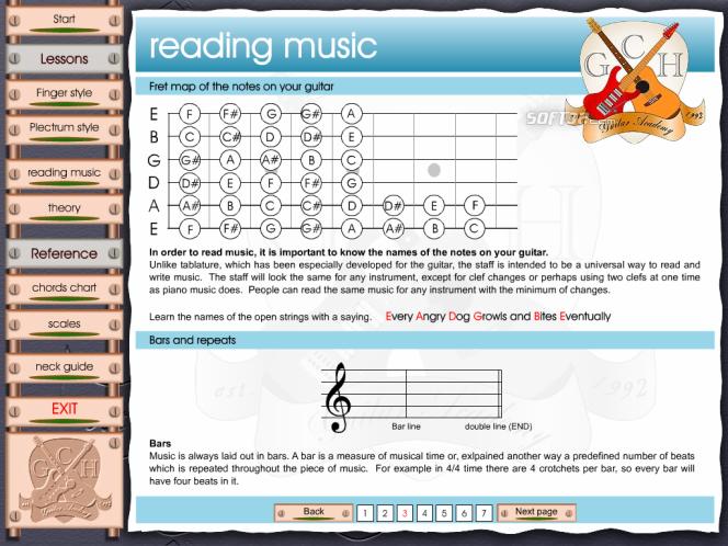 Learn to play Guitar - GCHGA unit2 Screenshot 6