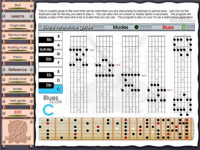 Learn to play Guitar - GCHGA unit2 Screenshot 8